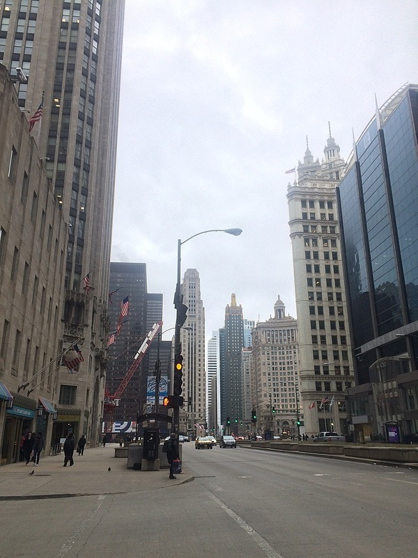 The streets of Chicago