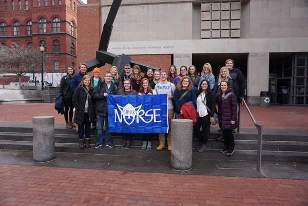 "Our group outside of the USHMM<a href=""/reason/images/797747_orig.jpg"" title=""High res"">∝</a>"