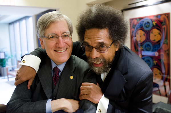 "Cornel West and Robert George<a href=""/reason/images/686750_orig.png"" title=""High res"">&prop;</a>"