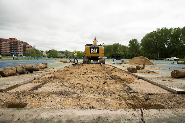 "Construction on Luther tennis courts is underway<a href=""/reason/images/759758_orig.jpg"" title=""High res"">∝</a>"