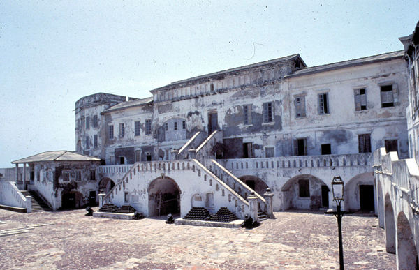 "Cape Coast Castle, Inner Courtyard, Ghana, 1986<a href=""/reason/images/736796_orig.jpg"" title=""High res"">&prop;</a>"