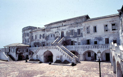Cape Coast Castle, Inner Courtyard, Ghana, 1986