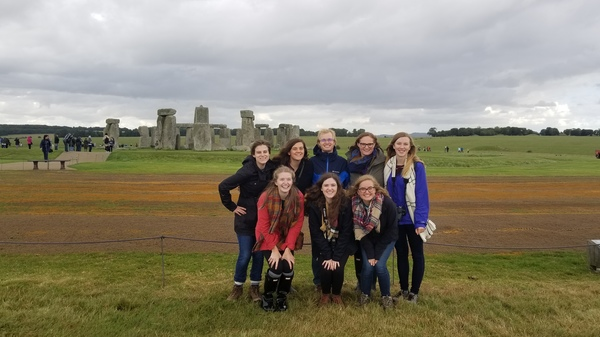 "We had the opportunity to go and visit the great monument of Stonehenge during our first big group trip to Devon.<a href=""/reason/images/776799_orig.jpg"" title=""High res"">∝</a>"