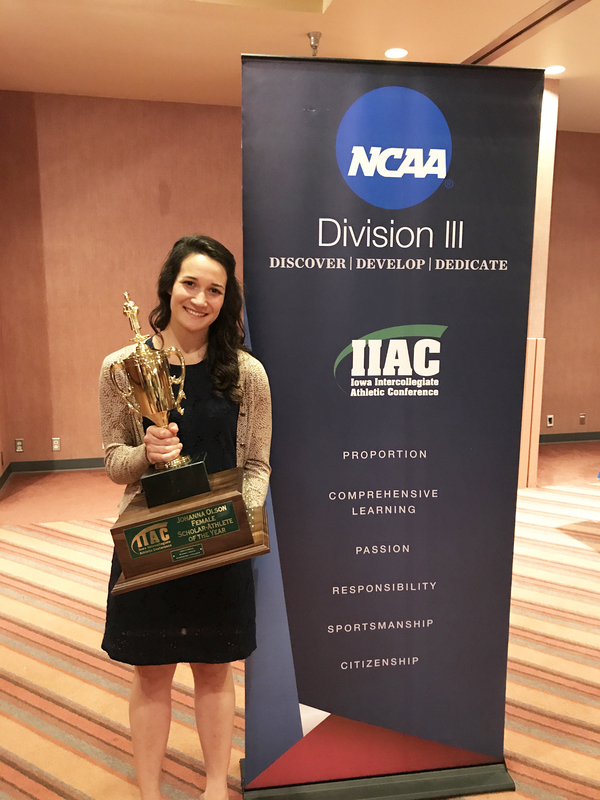 "Clare Slagel - Johanna Olson Female Scholar Athlete of the Year<a href=""/reason/images/760804_orig.jpg"" title=""High res"">∝</a>"