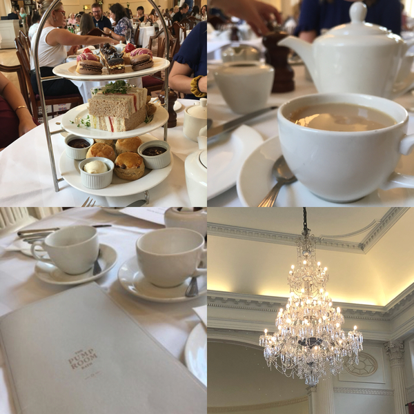 "Afternoon Tea at the Pump Room in Bath. Assorted sandwiches, scones and desserts!<a href=""/reason/images/824820_orig.jpg"" title=""High res"">∝</a>"