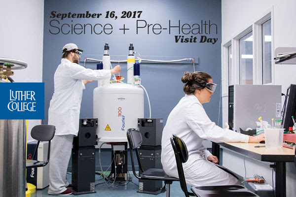 Science and Pre-Health Visit Day Promotion