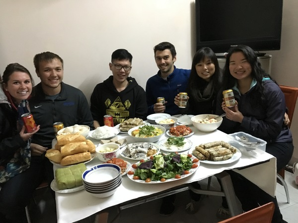 "Dinner at Tam Vo's house. A former Luther student! Delicious meal.<a href=""/reason/images/672825_orig.jpg"" title=""High res"">∝</a>"