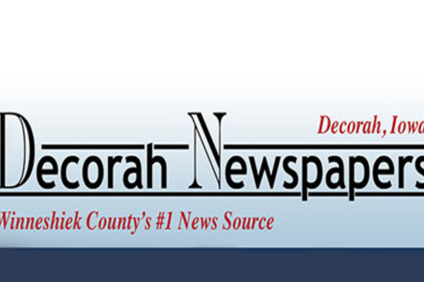 Brand for Decorah Newspapers.