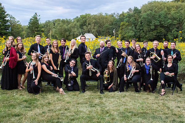Luther College Trumpets 2018