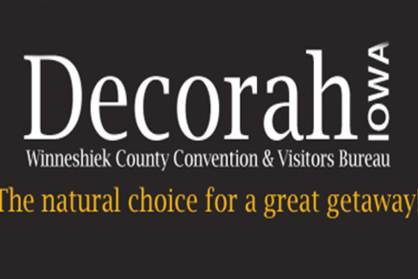 Brand for Visit Decorah