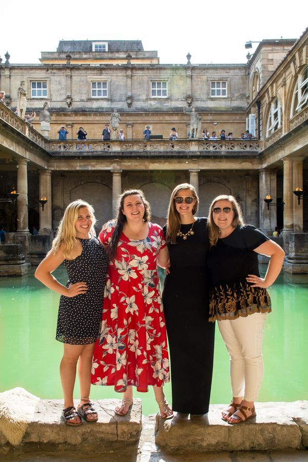 "Britta Pressler, Kayla Thelemann, Kelsey Ott, & Olivia Doherty at the Roman Baths<a href=""/reason/images/824835_orig.jpg"" title=""High res"">∝</a>"