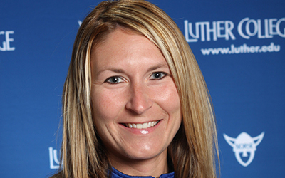 Luther College Athletic Director Renae Hartl