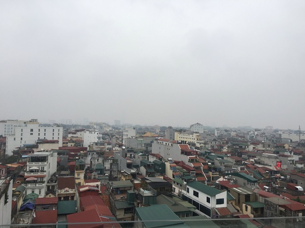 "A rooftop view of Hanoi, the capital of Vietnam<a href=""/reason/images/671848_orig.jpg"" title=""High res"">∝</a>"