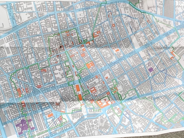"Map of the Warsaw Ghetto<a href=""/reason/images/800856_orig.jpg"" title=""High res"">∝</a>"