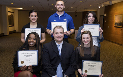 Steven Mark Anderson Scholarship recipients