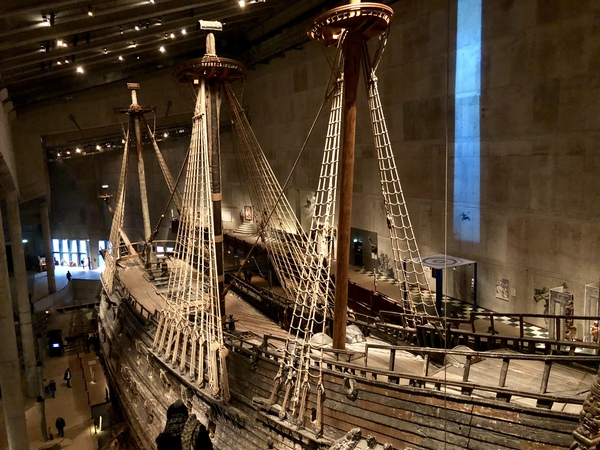 "The Vasa, a 300-year-old Swedish warship, on display at the Vasamuseet in Stockholm.<a href=""/reason/images/798858_orig.jpg"" title=""High res"">∝</a>"