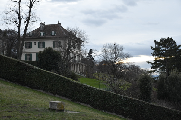 "A view from afar of the Villa Diodati-the house Lord Byron and the Shelley's lived in when Mary Shelley began writing Frankenstein<a href=""/reason/images/798864_orig.jpg"" title=""High res"">∝</a>"