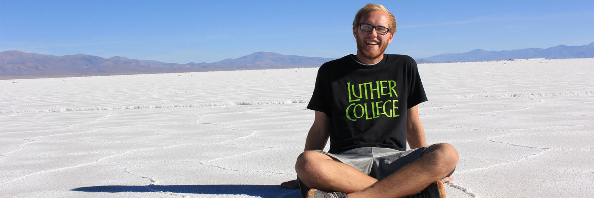 Ryan Goos snapped a photo at Las Salinas Grandes, a salt flat in northern Argentina, during a study-abroad trip to the country in the spring of 2015.