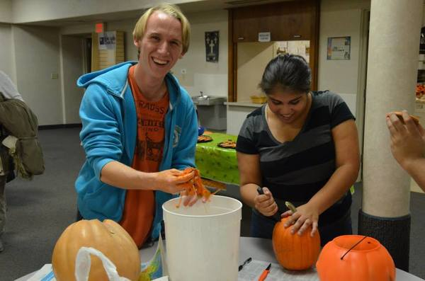 Pumpkin Carving Friendship Family Program