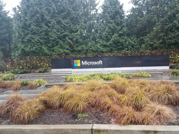 "Microsoft sign sitting on the end of campus<a href=""/reason/images/797886_orig.jpg"" title=""High res"">∝</a>"