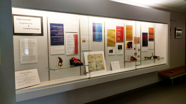 """Objectworlds: Imagined Lives and Curated Knowledge,"" on display in the Olin Building on the Luther College campus.<a href=""/reason/images/755897_orig.jpg"" title=""High res"">∝</a>"