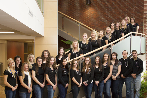 Students in the nursing program 2012-2013