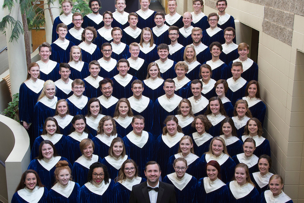 Nordic Choir 2017-18 Ensemble PIcture