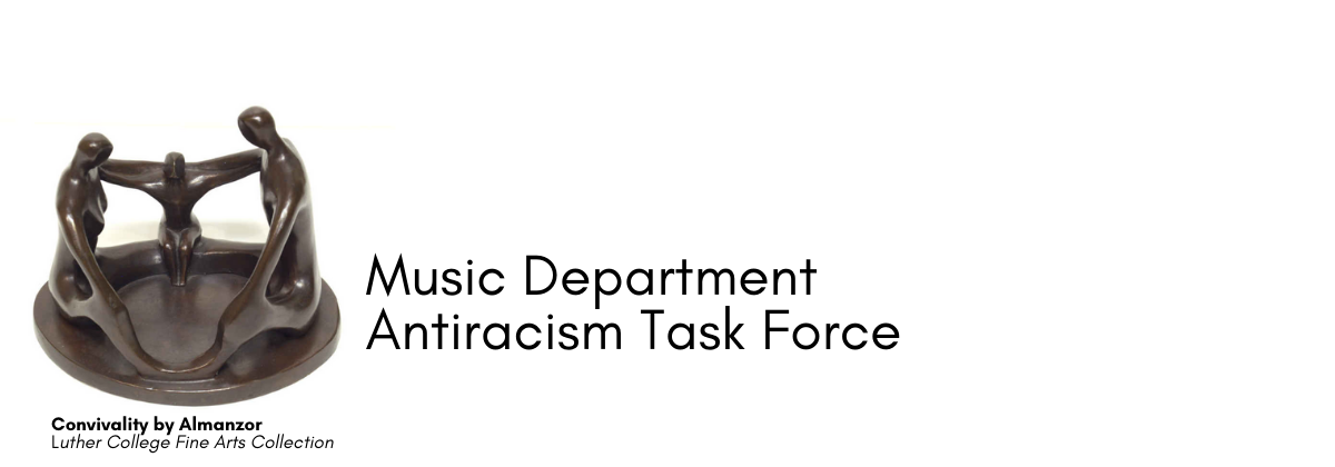 Music Antiracism Task Force header image.