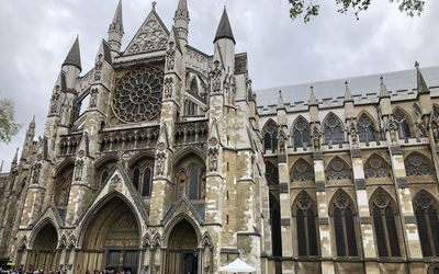Westminster Abbey on rainy Friday afternoon!
