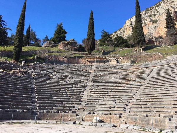 "Theater at the Sanctuary of Apollo at Delphi.<a href=""/reason/images/740911_orig.jpg"" title=""High res"">∝</a>"