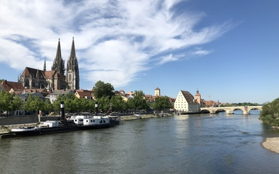 A view of Regensburg