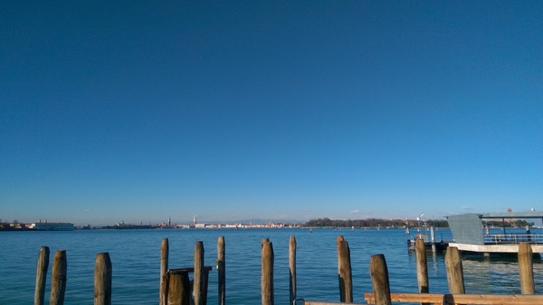 "A great view of the Venetian Lagoon from the shore of Lido - If you look really hard, you may be able to catch the Alps in the background!<a href=""/reason/images/670925_orig.jpg"" title=""High res"">∝</a>"