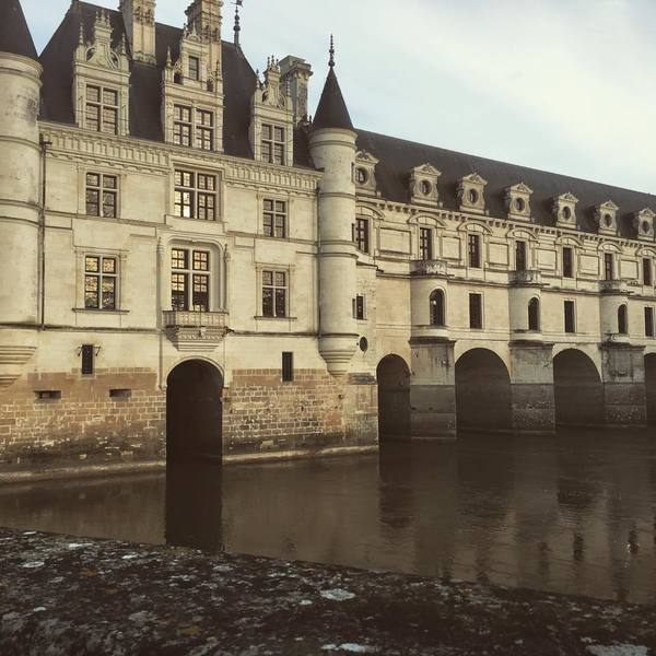 "The beautiful castle of Chenonceau, built over the water WITH A MOAT! We all loved it so much.<a href=""/reason/images/671930_orig.jpg"" title=""High res"">∝</a>"