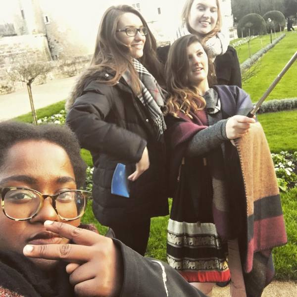 "Yes, at Chenonceau, we were THAT group with the selfie stick.<a href=""/reason/images/671936_orig.jpg"" title=""High res"">∝</a>"