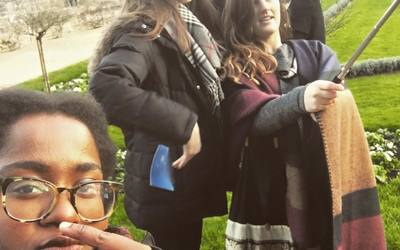Yes, at Chenonceau, we were THAT group with the selfie stick.