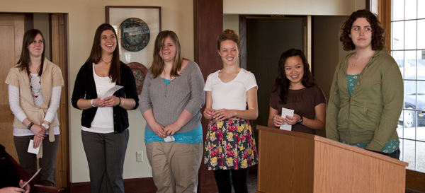 Phi Alpha National Social Work Honor Society inducts new members