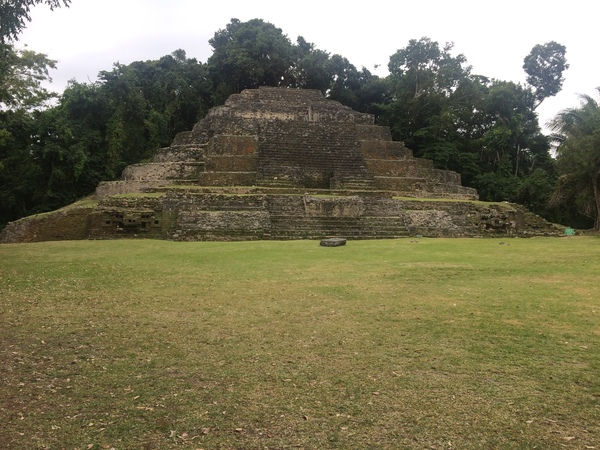"The Jaguar Temple of Lamanai.<a href=""/reason/images/798946_orig.jpg"" title=""High res"">∝</a>"