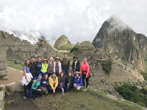 "Group Photo on the side of Machu Picchu<a href=""/reason/images/738953_orig.jpg"" title=""High res"">&prop;</a>"