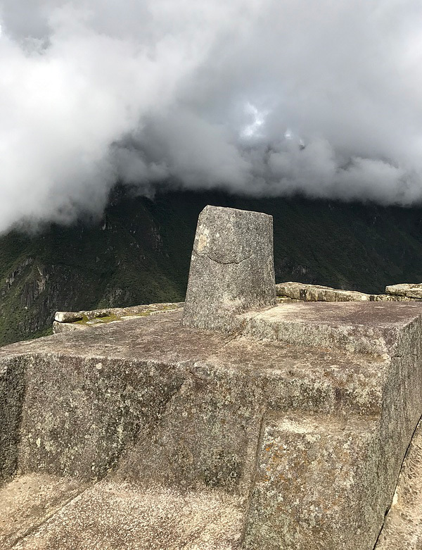 The Inca Sundial, to tell time.