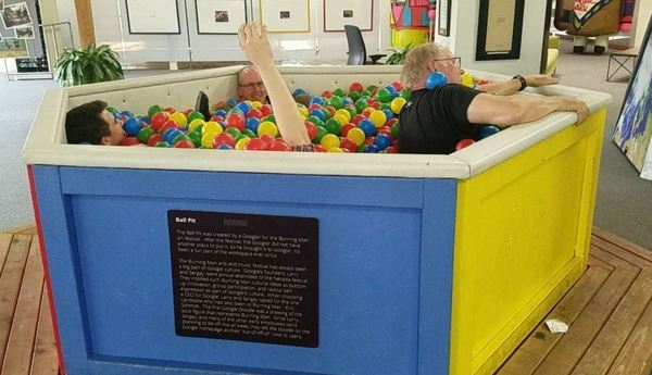 "Two Luther Professors and Three students get stuck in a ball pit...<a href=""/reason/images/798963_orig.jpg"" title=""High res"">∝</a>"