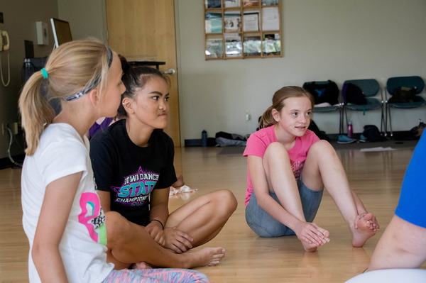 Dancers talk about their experience during camp