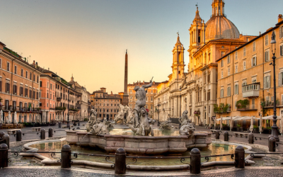 We can't wait to explore the Piazza Navona!