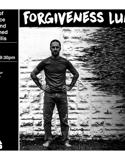 "Poster for Luther College's dance production of ""Forgiveness Lunch"""