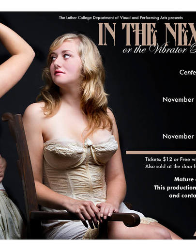 "Poster for the Luther College Production of ""In the Next Room"""